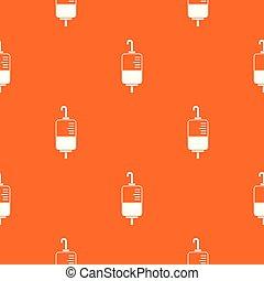 Patrón de donación de sangre sin costura