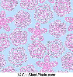 Patrón de fondo de encaje rosado