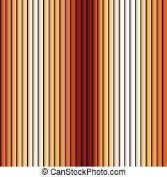 Patrón de fondo marrón rayado vector blanco