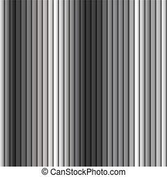Patrón de fondo sin costura de rayas de metal grises