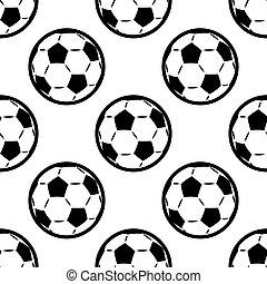 Patrón de fondo sin daños de fútbol