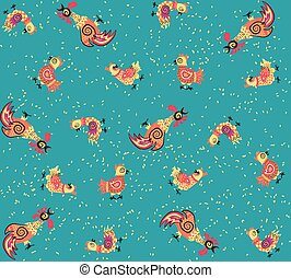 Patrón de gallo