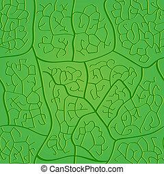 Patrón de hojas inservible