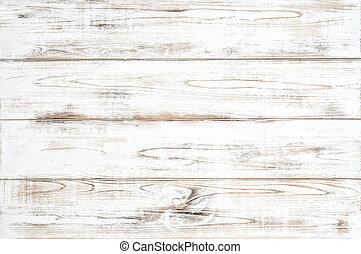 Patrón de madera de fondo blanco de tablones de madera natural