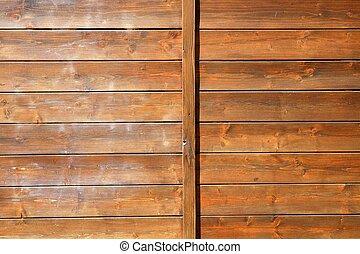 Patrón de madera dorada marrón