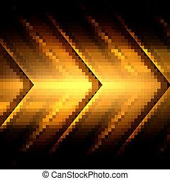 Patrón de metal de fondo