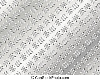 Patrón de metal