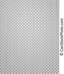 Patrón de metal gris