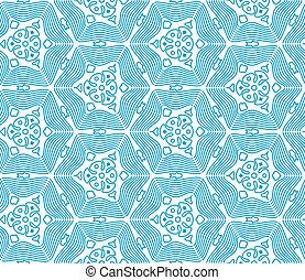 Patrón de monocromo azul