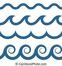 Patrón de ondas sin daños