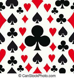 Patrón de póquer sin sentido