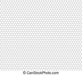 Patrón de panal abstracto sin costura