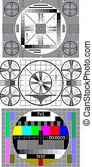 Patrón de prueba de TV