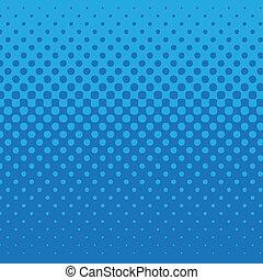 Patrón de punto azul