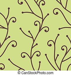 Patrón de rama de árbol