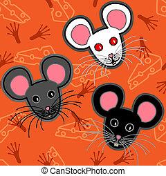 Patrón de ratones sin semen