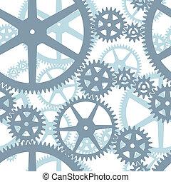 Patrón de ruedas de engranaje sin sentido