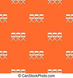 Patrón de sillas sin costura