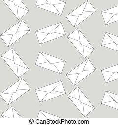 Patrón de sobres sin costura