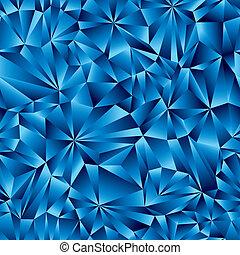 Patrón de superficie azul sin costura.