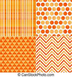 Patrón de textura anaranjada