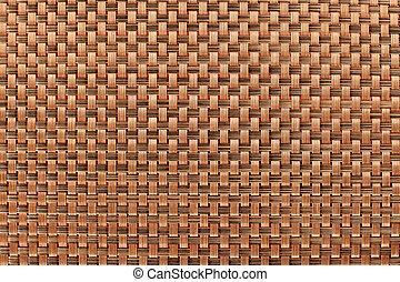 Patrón de textura de mantel marrón