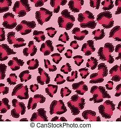 Patrón de textura rosado de leopardo.