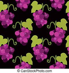 Patrón de uva
