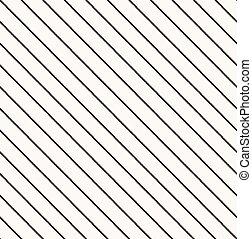 patrón, diagonal, seamless, rayas
