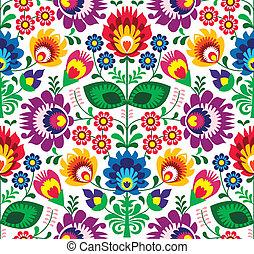 Patrón floral sin sentido