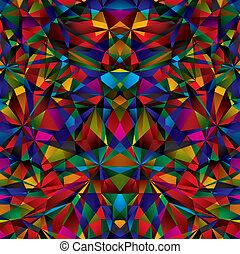 Patrón geométrico de superficie sin costura.