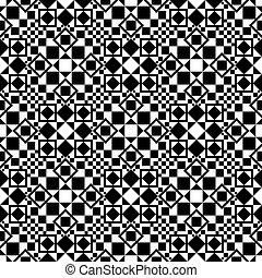 Patrón geométrico sin costura.