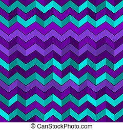 Patrón geométrico sin costuras con zigzags