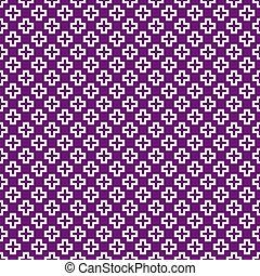 patrón, gráfico, vector, seamless, (tiling)