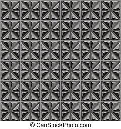 Patrón industrial 3D sin costura