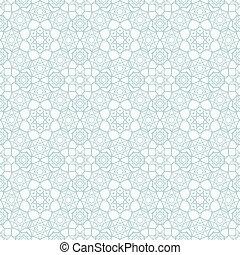 Patrón islámico sin costura