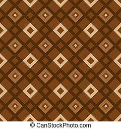 Patrón marrón