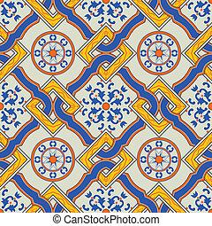 Patrón mediterraneo tradicional