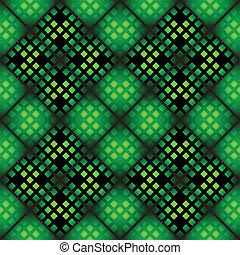 Patrón mosaico inservible