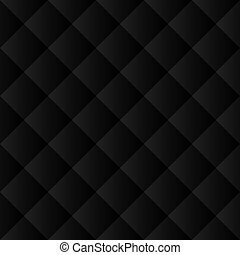 Patrón negro sin costura