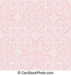 Patrón popular rosa