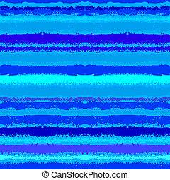 Patrón rayado inspirado por olas marinas en azul