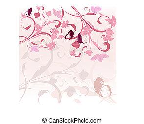 Patrón rosa
