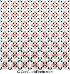 Patrón sin costura de cuadrados