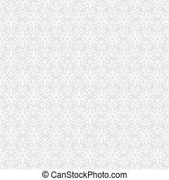 Patrón sin costura de gris y blanco