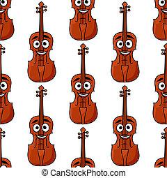 Patrón sin forma de violines clásicos