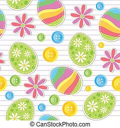 Patrón sin manchas de Pascua