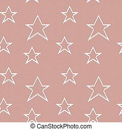 Patrón sin marcas de encaje con estrellas
