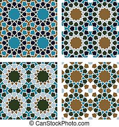 Patrón sin marcas geométricas