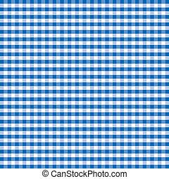 Patrón sin sentido, a cuadros azules